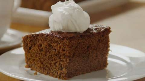 Recipe for gingerbread loaf cake