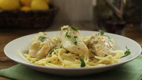 recipe for chicken piccata with mushrooms and capers