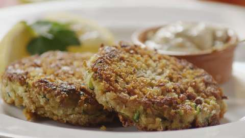 "Connie's Zucchini ""Crab"" Cakes"