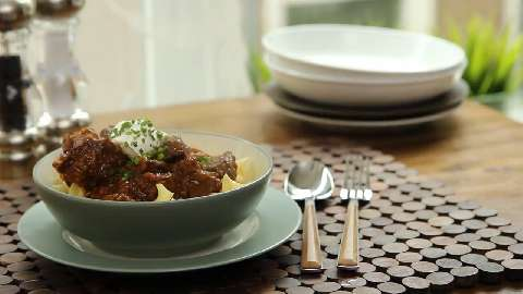 Real Hungarian Goulash