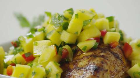 mango salsa watch how to make this sweet spicy salsa