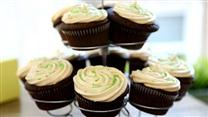 Chocolate Beer Cupcakes with Whiskey Filling