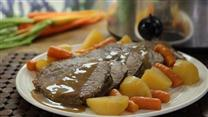 Slow Cooker Apple Cider Pot Roast