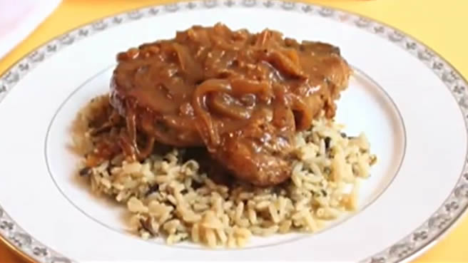 Chef John's Smothered Pork Chops
