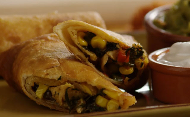 recipe: southwest chicken egg rolls [13]
