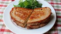 Grilled Brie Pear Sandwich