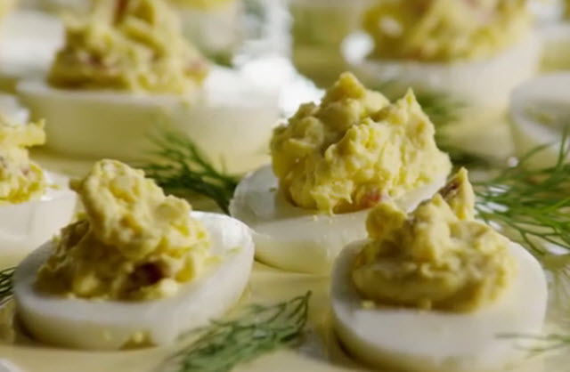bacon cheddar deviled eggs make your deviled eggs better with bacon