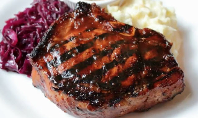 how to cook bbq pork steaks