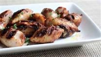 Grilled Sausage-Stuffed Calamari