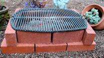 How to Make a Brick Grill