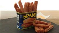 SPAM® Fries with Spicy Garlic Sriracha Sauce