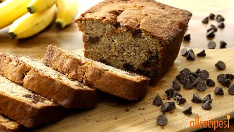 Banana Chocolate Chip Bread Video - Allrecipes.com