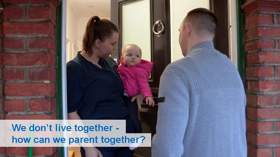 We don't live together - how can we parent together? (from 6 months)