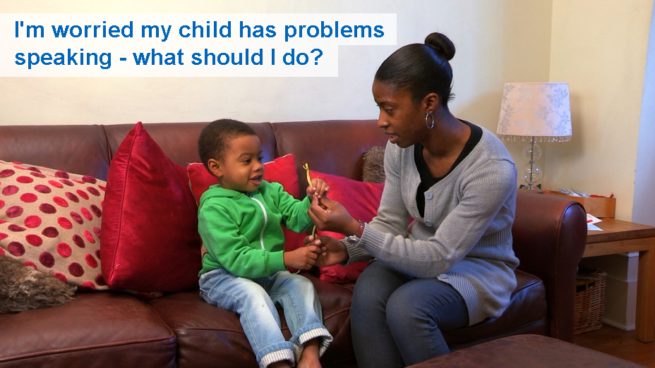 I'm worried my child has problems speaking - what should I do? (24 to 30 months)