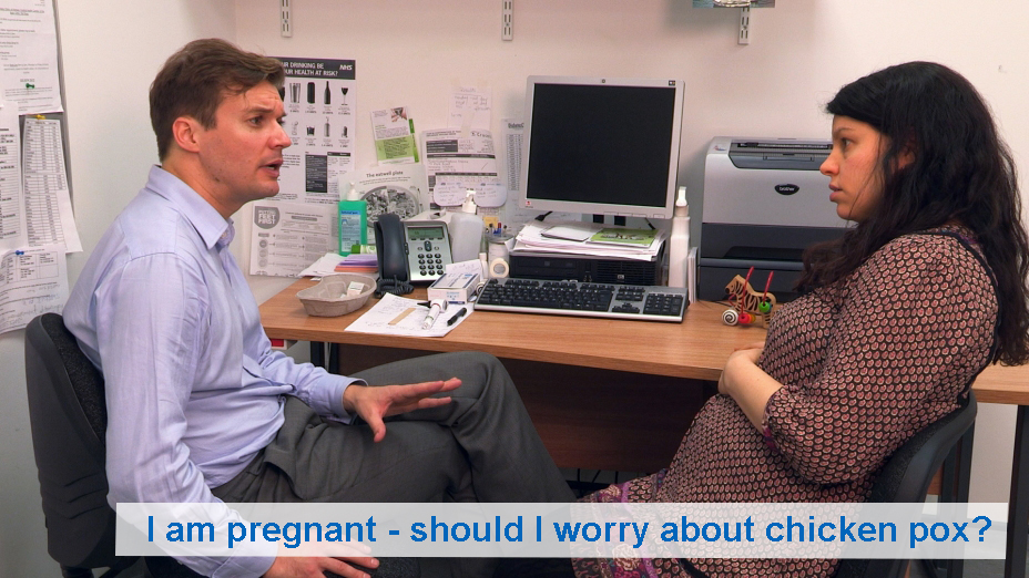 I am pregnant - should I worry about chicken pox?