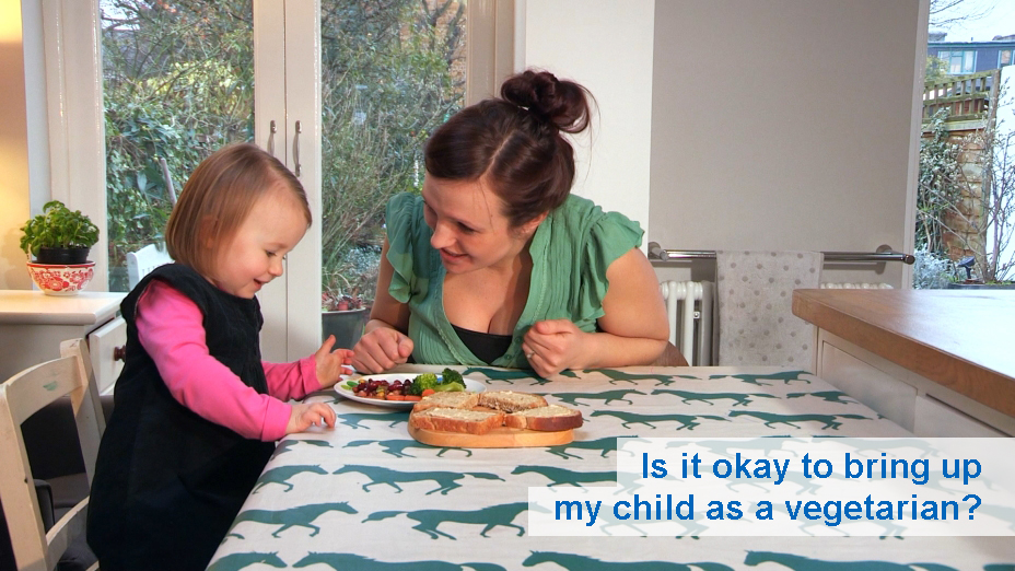Is it okay to bring up my child as a vegetarian? (from 6 months)