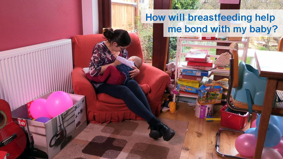 How will breastfeeding help me bond with my baby? (0-9 months)
