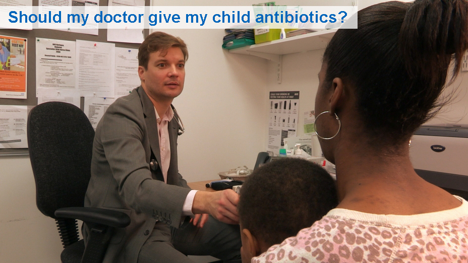 Should my doctor give my child antibiotics? (from 6 months)