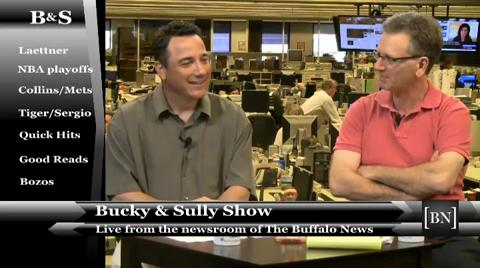 News Sports Columnists Bucky Gleason and Jerry Sullivan hit on a number of topics during the