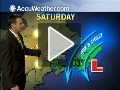Fredericton, NB - Expect rainy weather late...
