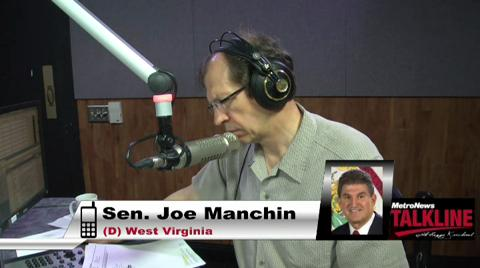 Manchin talks IRS scandal