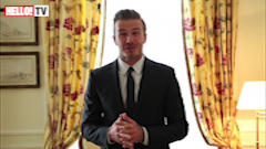 David Beckham and Joan Collins lead star-studded birthday wishes for HELLO! Magazine