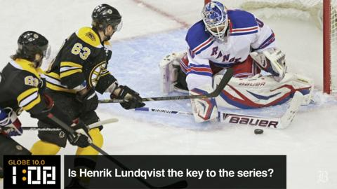 Globe 10.0: Lundqvist Key to the Series?