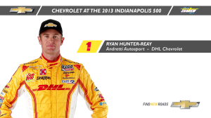 INDYCAR: Indy 500 History Lessons - Ryan Hunter-Reay