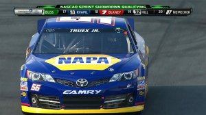 CUP: Martin Truex Jr. on Pole - Sprint Showdown 2013