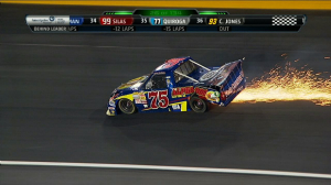TRUCKS: Quiroga, Holman Out Early - Charlotte 2013