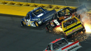 TRUCKS: Hornaday, Crum Wreck Hard - Charlotte 2013