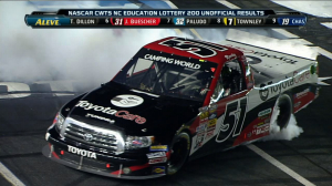 TRUCKS: Kyle Busch Wins - Charlotte 2013