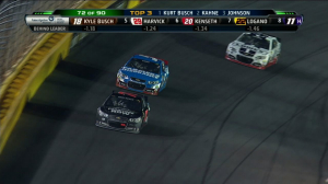 CUP: Kurt Busch Leads 4th Segment - All-Star 2013