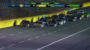 CUP: Kyle Busch 1st in Segment 2 - All-Star 2013