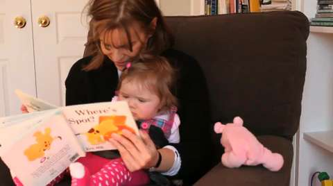 The benefits of reading to your baby
