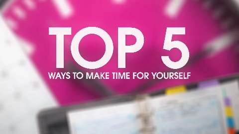 Top 5 ways to make time for yourself as a mom