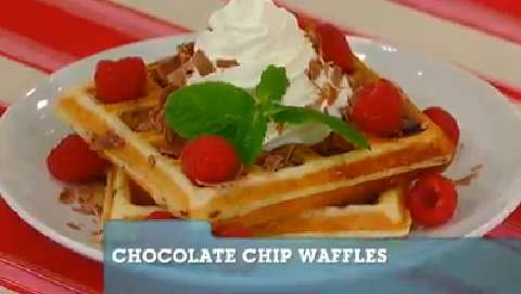 Best Recipes Ever: Chocolate Chip Waffles