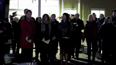 Lighting the Corner Brook Tree of Memories