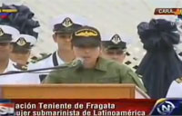 Latin America's 1st Female Submariner