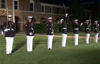 Marine Corps Silent Drill 2013