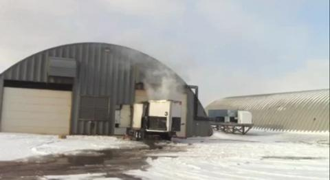 VIDEO: Linkletter trailer fire
