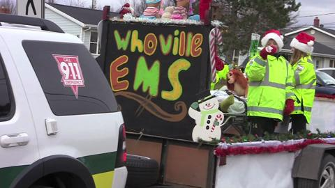 VIDEO: Souris Christmas parade