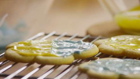 Icing for cookie recipes