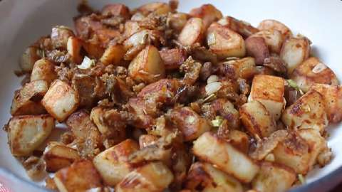 Restaurant style home fries recipe