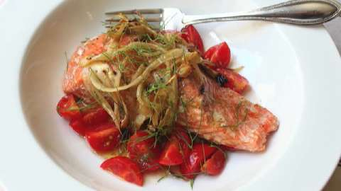 Fennel-Smoked Salmon