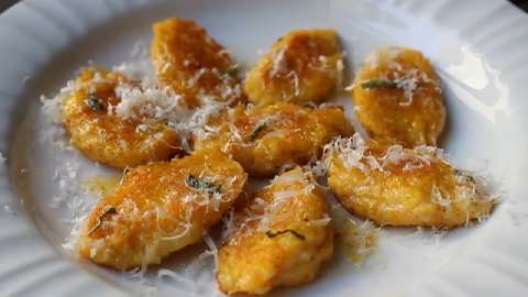 Butternut Squash and Mascarpone Gnocchi