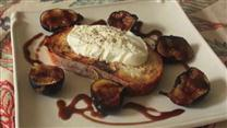 Burrata Bruschetta with Figs