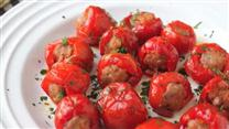 Sausage-Stuffed Cherry Pepper Poppers