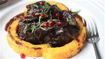 Lamb Chops Braised in Pomegranate Juice