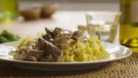 Beef Stroganoff III Video - Allrecipes.com